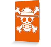 【4000+ views】ONE PIECE: Jolly Roger of Straw Hat III Greeting Card