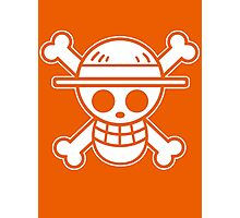 【4000+ views】ONE PIECE: Jolly Roger of Straw Hat III Photographic Print
