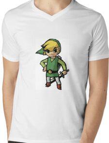 Link, zelda, cartoon version Mens V-Neck T-Shirt
