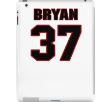 NFL Player Bryan Shepherd thirtyseven 37 iPad Case/Skin