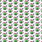A Potted Pixel Plant by Belinda Osgood