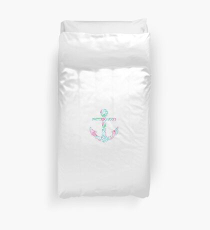 Lilly Lobster Anchor Duvet Cover