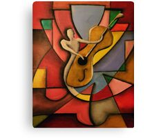 Shape of Music Canvas Print