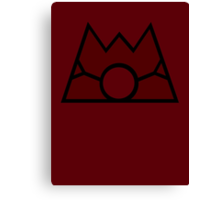 【10600+ views】Pokemon Team Magma Canvas Print