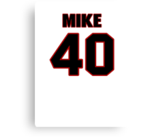 NFL Player Mike Caussin forty 40 Canvas Print