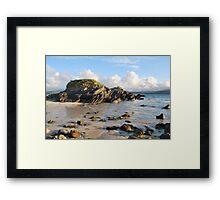 Summer in Balnakiel Bay Framed Print