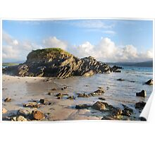 Summer in Balnakiel Bay Poster