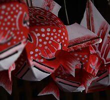 Goldfish Lanterns by reyanimator