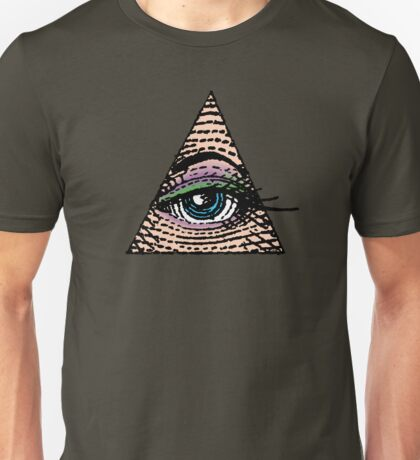 Her Eye In The Pyramid #1 Unisex T-Shirt
