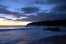 Before the Moon Went to Bed at Sango Bay by Lindamell