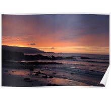 Sunset at Balnakeil Bay Poster