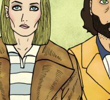 Margot & Richie Sticker