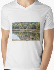 landscape lake Mens V-Neck T-Shirt
