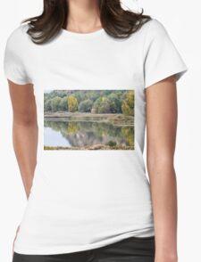 landscape lake Womens T-Shirt