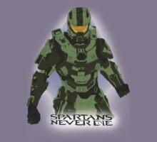Spartans Never Die Kids Clothes