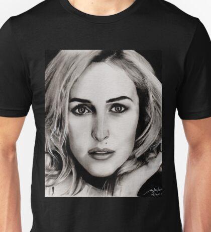 Gillian Anderson Oil Unisex T-Shirt