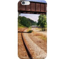 Vintage Railroad Tracks iPhone Case/Skin