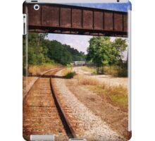 Vintage Railroad Tracks iPad Case/Skin