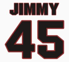 NFL Player Jimmy Gaines fortyfive 45 by imsport