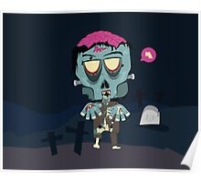 Frank the Zombie Poster