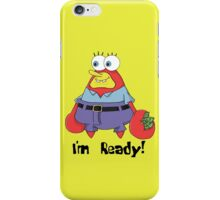 Spongebob Krabpants iPhone Case/Skin