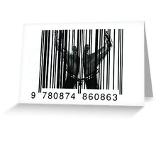 Chained By Capitalism Greeting Card