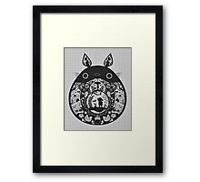 【24800+ views】Totoro Framed Print