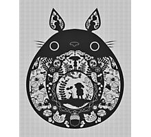 【24800+ views】Totoro Photographic Print