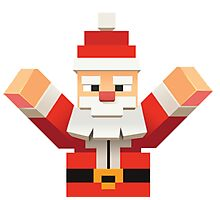 Santa Claus Photographic Print