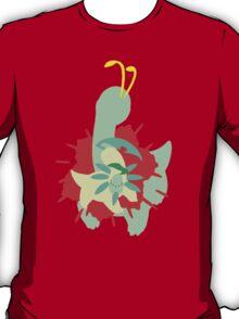 【11800+ views】Pokemon  Chicorita>Bayleef>Meganium T-Shirt