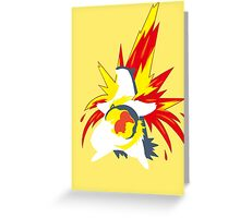 【20600+ views】Pokemon  Cyndaquil>Quilava>Typhlosion Greeting Card