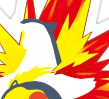 【20600+ views】Pokemon  Cyndaquil>Quilava>Typhlosion Sticker
