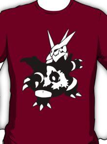 【17800+ views】Pokemon  Aron>Lairon>Aggron T-Shirt
