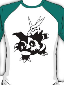 【17800+ views】Pokemon  Aron>Lairon>Aggron T-Shirt