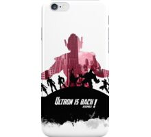 The evil is back iPhone Case/Skin