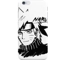 【3600+ views】NARUTO: Naruto T-shirt in Black iPhone Case/Skin