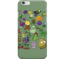 Plant Army iPhone Case/Skin