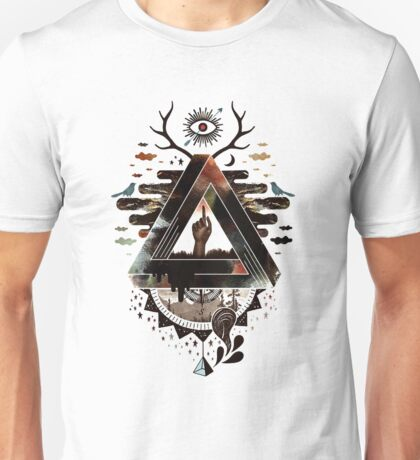 abstract Unisex T-Shirt