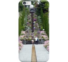 Flower stairs - Mainau iPhone Case/Skin