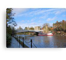 Lendal Bridge Canvas Print