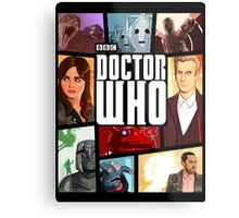 Doctor Who - Series VIII Metal Print