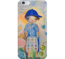 Bertie 'Miracle created with love' iPhone Case/Skin