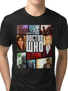 Doctor Who - Series VIII Tri-blend T-Shirt
