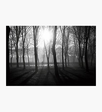 N°255: Street photography Black and White Photographic Print