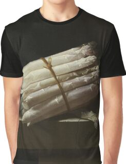 Adriaen Coorte - Still Life With Asparagus, 1697 Graphic T-Shirt