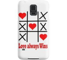 T-Shir- LOVE ALWAYS WINS+Phone Cases+Pillows & Totes+Mugs+Prints, Cards & Posters+Laptop Skins Samsung Galaxy Case/Skin