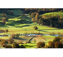 River Brathay from Loughrigg Fell by Stephen Read