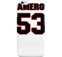 NFL Player Cameron Lawrence fiftythree 53 iPhone Case/Skin