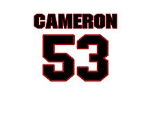 NFL Player Cameron Lawrence fiftythree 53 Photographic Print