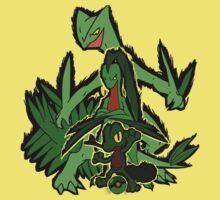 Grass Pokèmon Emerald Power! Kids Tee